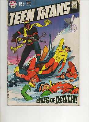 Teen Titans 24 Fine 1969 Dc Bronze Comic