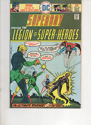 Superboy 211 Very Fine+ 1975 Dc Bronze Comic