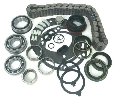 Transfer Case Rebuild Bearing Kit and Chain Dodge Chevy NP 241 241DHD (BK241D)