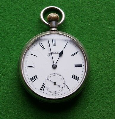 Antique Silver Cased Imperial Pocket Watch