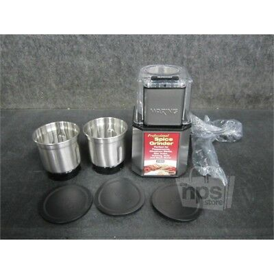 Waring WSG30 Commercial Electric Spice Grinder, Stainless Steel, 19,000 RPM