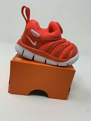 new style 69550 c5468 BABY BOYS Nike Dynamo Free Shoes, Orange - Size 2c 343938-624