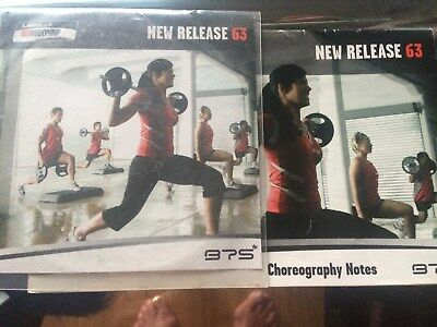 Les Mills Bodypump 63 Instructor CD and choreography Notes