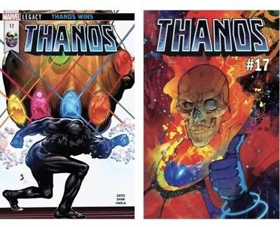 "Thanos # 17 Cover A & B ""Legacy Tie-In"" Donny Cates Cosmic Ghost Rider Marvel"