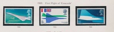 1969 First Flight Of Concorde - M Mint