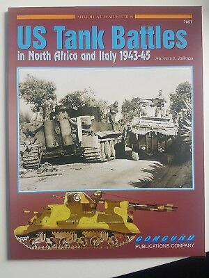 CONCORD #7051 US Tank Battles North Africa & Italy