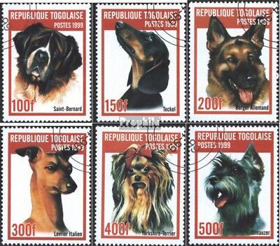 Togo 2823-2828 (complete issue) used 1999 Breeds