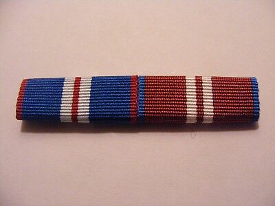 Queens Golden and Diamond Jubilee Medal Sew On Ribbon Bar QGJM QDJM