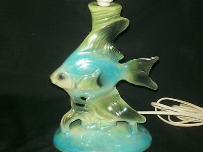 Barsony SilverCloud Fish Lamp- genuine vintag/retro