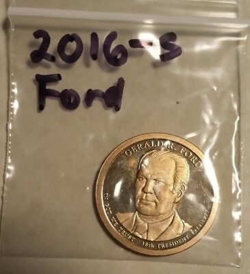 (1 Coin ) 2016 –D President Gerald Ford Dollar.