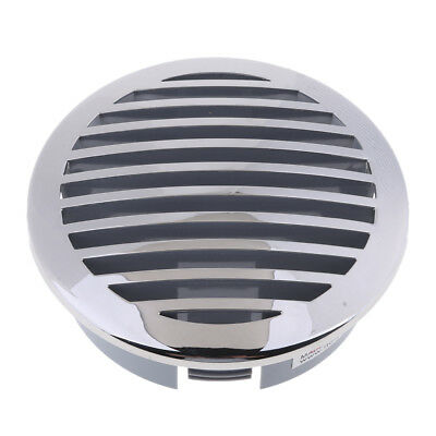 "4"" (100mm) RV Marine Boat 316 Stainless Steel Round Airflow Vent 81933SS-HP"