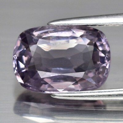 3.29ct 10.6x7.5mm Cushion Natural Purple Spinel, M'GOK