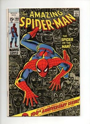 Amazing Spider-Man #100 (1971) FN/VF Stan Lee John Romita
