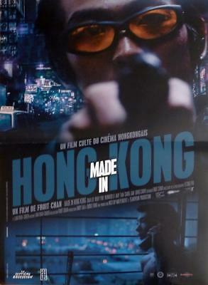 Made In Hong Kong - Heung Gong Jai Jo - Fruit Chan - Reissue French Movie Poster