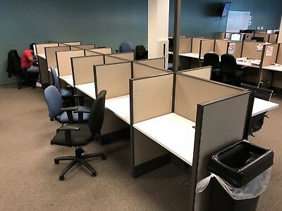 Clean Ais 3Ft Call Center Cubicles Workstations