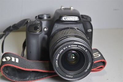 Canon Rebel XS DSLR w/ 18-55mm IS lens -tested/works- #21