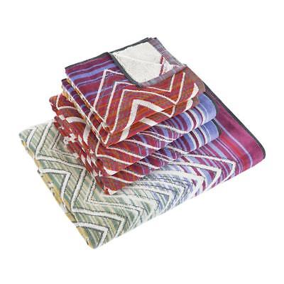 Missoni Home Towels 1 bath sheet + 2 bath towels + 2 hand towels TOLOMEO 159