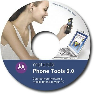 OEM Original MOTOROLA Software Phone Tools 5 w/ Data Cables for V3 V400