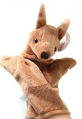 Kangaroo hand puppet Australia Animals Collections Aussie Gift for Kids souvenir