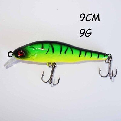 Plastic Hard Fishing topwater Popper Bait Lure Minnow Tackle 5.5CM  4G