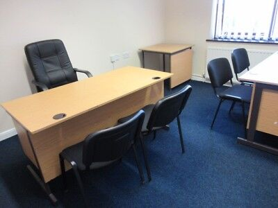 used office furniture Desk Chairs Storage Cupboard