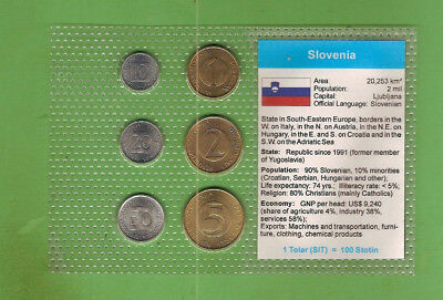 #D389.  Coins From Slovenia