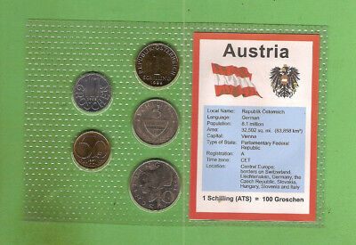 #d389.  Coins From  Austria
