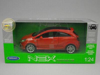 Opel Corsa OPC - Red - Welly - 1:24 - WE22511RE