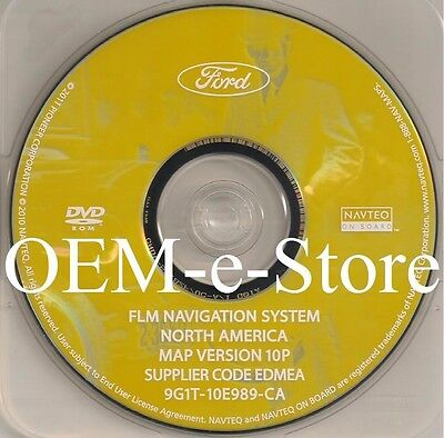 2015 LATEST Ford Lincoin Mercury NAVIGATION DVD MAP UPDATE 13P 2006