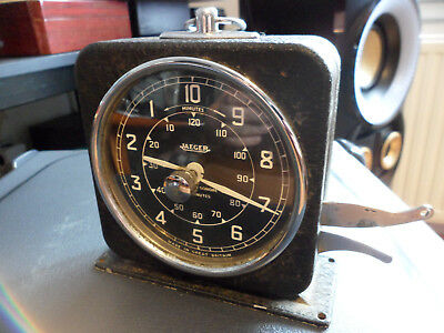 minuteur JAEGER ancien 120 minutes English clock systems great britain