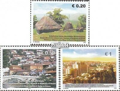 kosovo (UN-Administration) 35-37 fine used / cancelled 2005 Traditonal Siedlungs