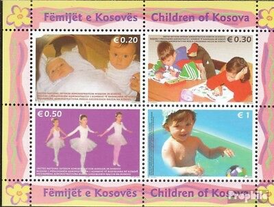 kosovo (UN-Administration) block2 fine used / cancelled 2006 Children