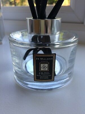 Jo Malone Empty Lime Basil and Mandarin Scent Surround Diffuser with six reeds