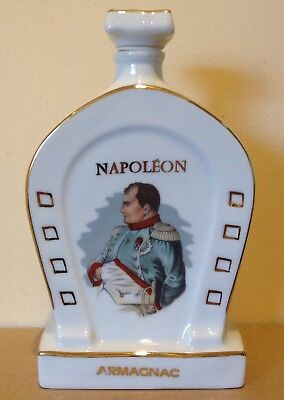 Vintage Limoges Porcelain Bottle From Napoleon  Armagnac