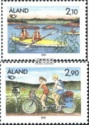 Finland-Aland 51-52 (complete issue) unmounted mint / never hinged 1991 NORTH 91