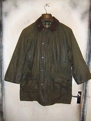 Rare Vintage Barbour Gamefair Waxed Jacket Size C40 102Cm