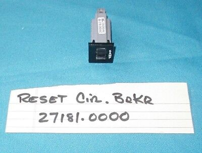 BUNN ULTRA 2 Slushy Machine RESET CIRCUT BREAKER SWITCH PART # 27181.0000