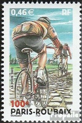 France 3618 (complete.issue.) unmounted mint / never hinged 2002 Cycling