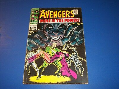 Avengers #49 Silver Age Magneto Scarlet Witch Quicksilver