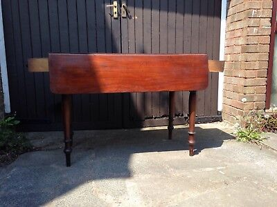 Victorian pembrook table for restoration