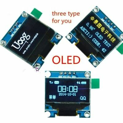 "2pc I2C OLED Display 128X64 0.96"" SSD1306. For Arduino/Raspberry Pi/ESP8266 UK"