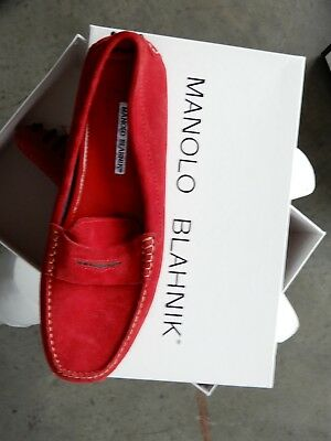 89aa80deadfb  795 New Manolo Blahnik SUSAFIOR Floral Flowers Pink Flats Sandals Shoes  40.5 41.  435.00 Buy It Now 4d 21h. See Details. manolo blahnik 39 Red  Suede Driver