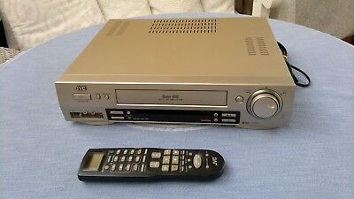 JVC HR-S7500 S-VHS VIDEORECORDER Hi-Fi B.E.S.T. PICTURE SYSTEM mit FB. #TOP SVHS