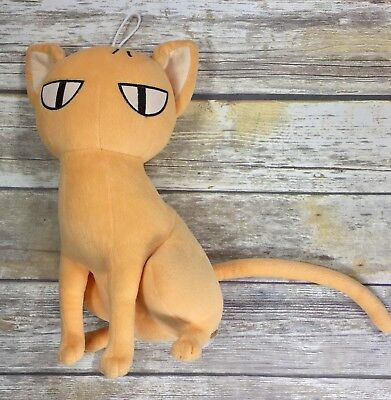 Fruits Baskets 2004 Kyo Sohma Orange Cat Plush Natsuki Takaya Anime 13""