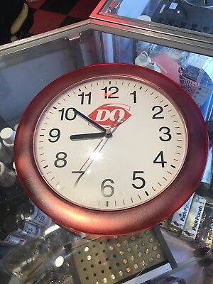 Dairy Queen DQ Collectible Wall Clock