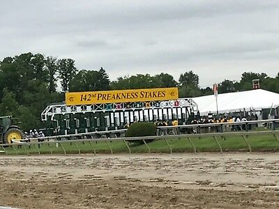 2018 Preakness Stakes 8 Apron Concourse 2nd and 3rd Row
