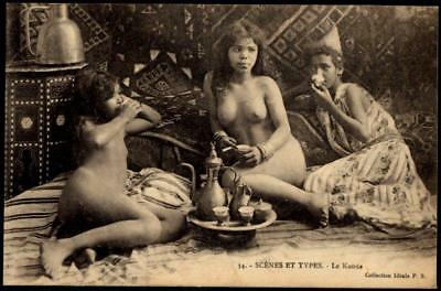 French Idéale PPC - Ethnic Nude Girls, Central Africa, Sudan - RP