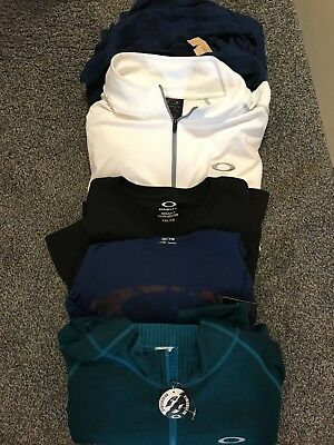 Mens Lot of 5 Xxl long sleev Shirts Oakley/Am eagle new with and without tags