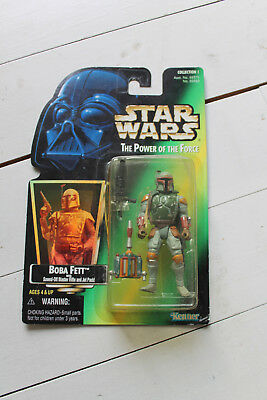 Boba Fett Bounty Hunter   Star Wars - Power Of The Force Collection - Hasbro