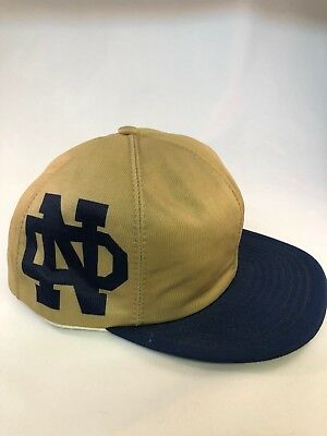 University Of Notre Dame Fighting Irish Vintage 1980's Snapback  Hat